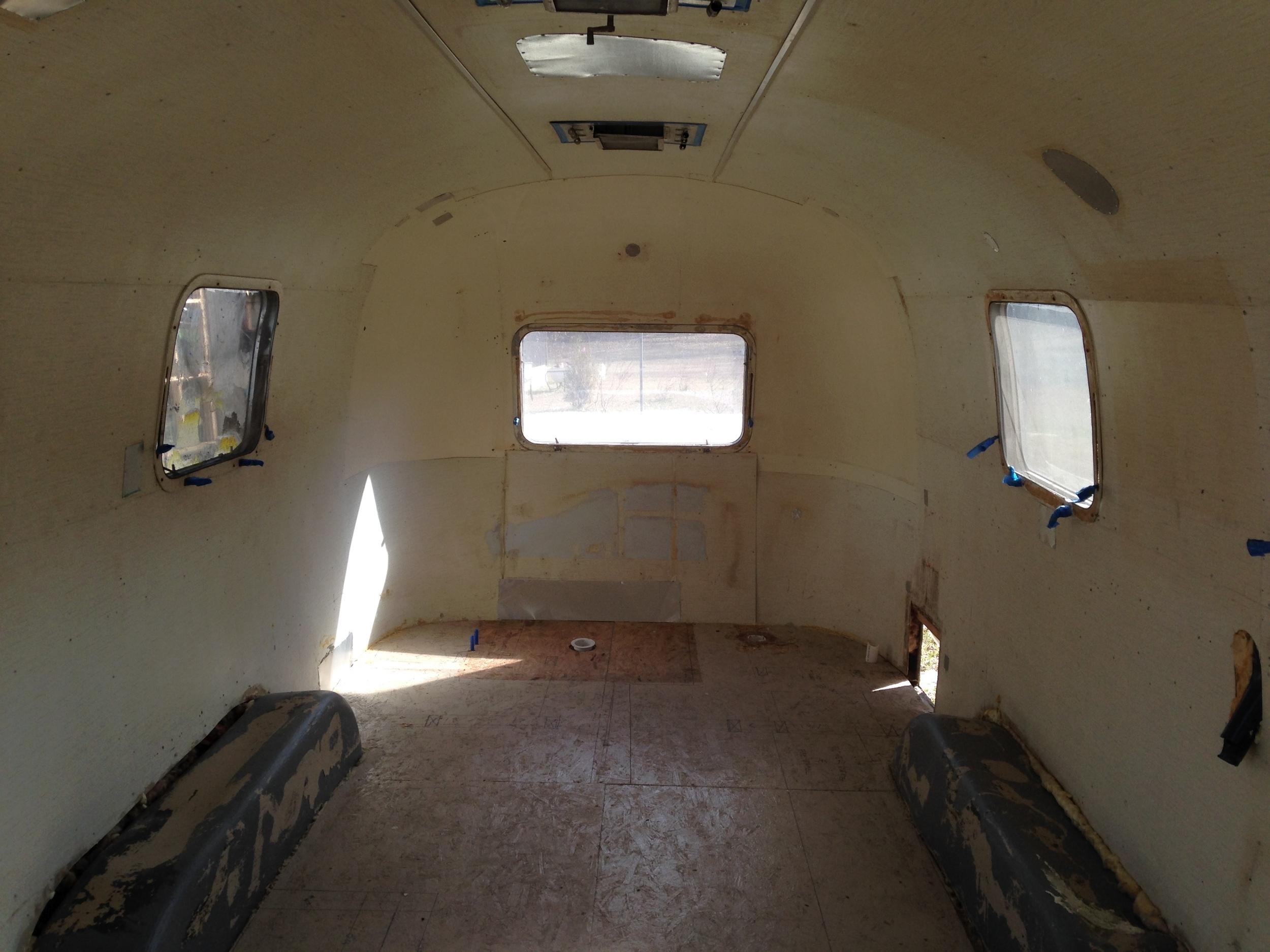 Airstream unpainted