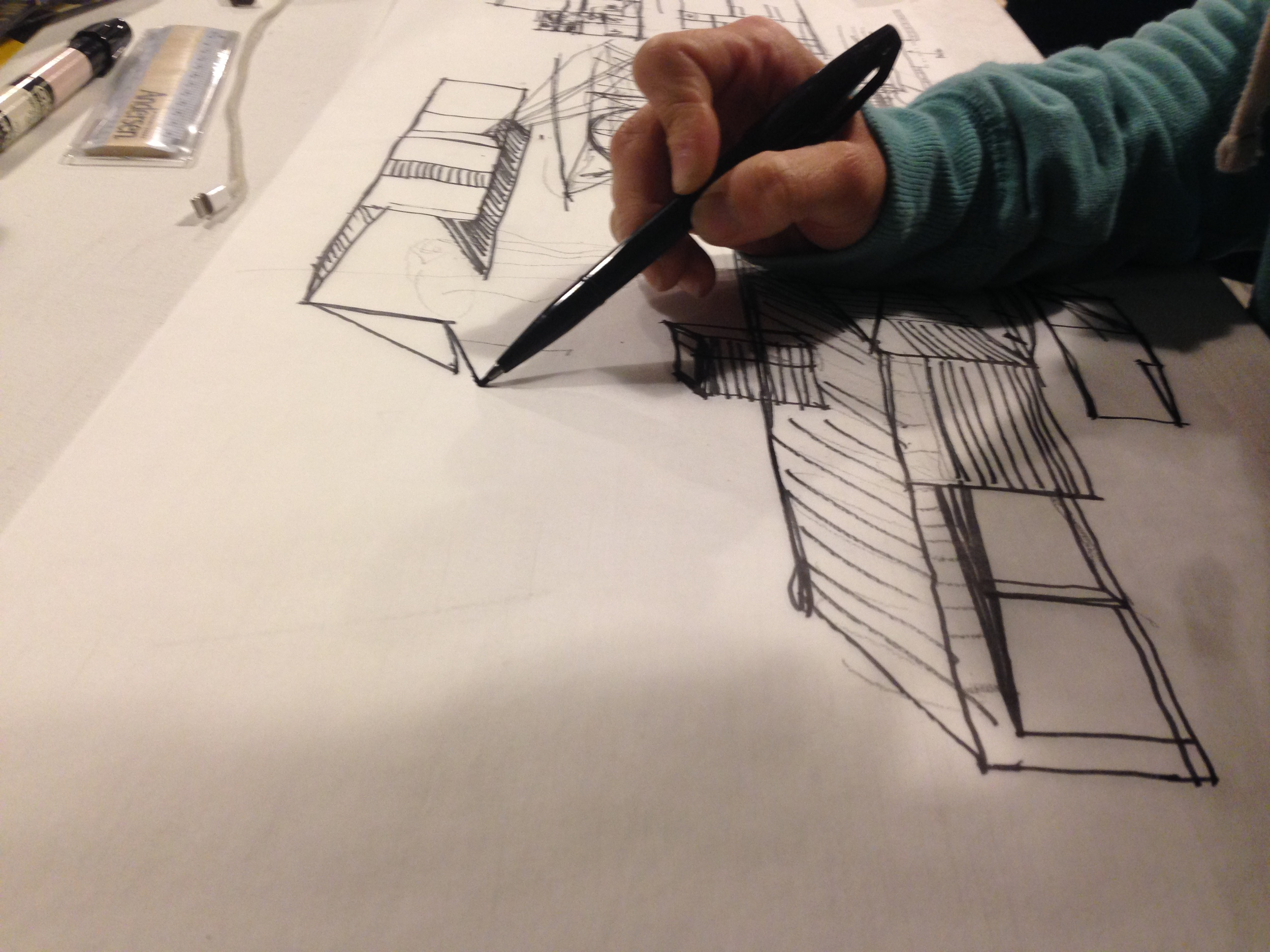 TALLstudio architecture Schematic Design