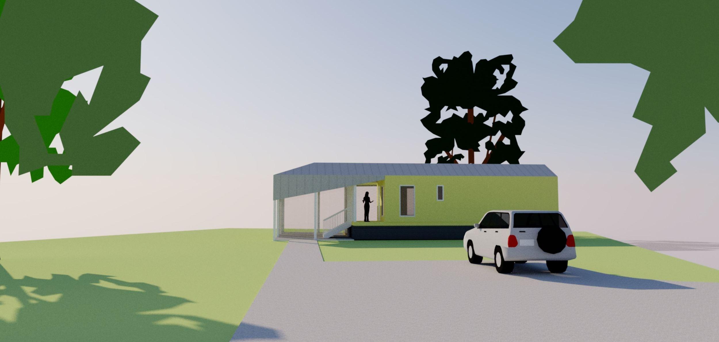 TALLstudio Architecture - Katrina Cottage - Ocean Springs, MS