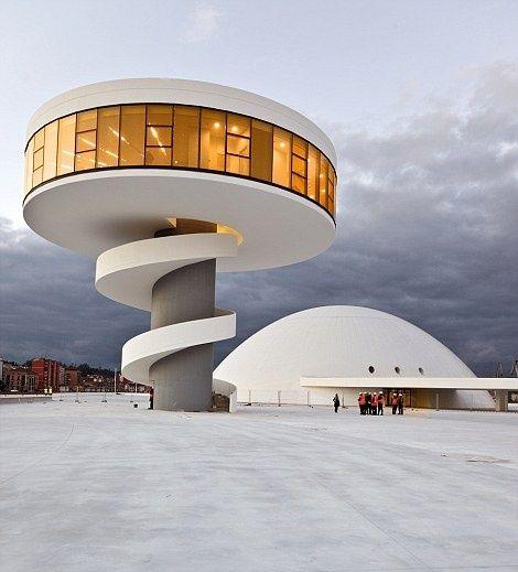 International Cultural Centre, by Oscar Niemeyer -  Daily Mail