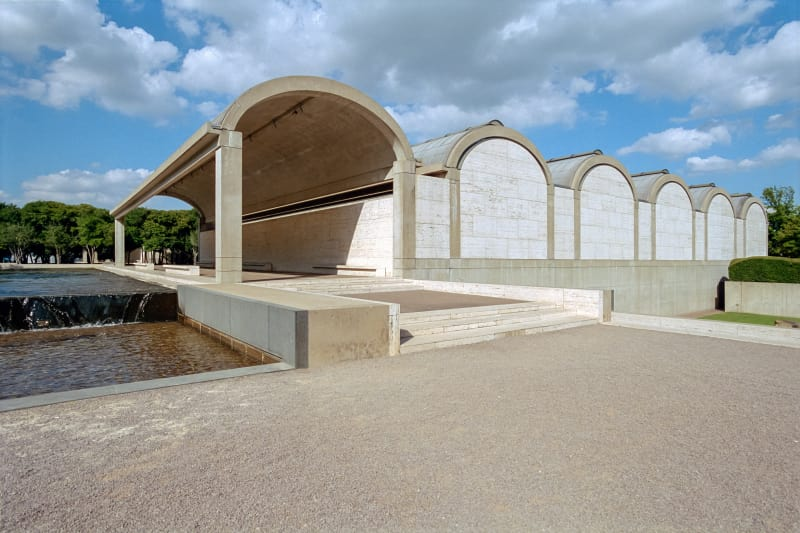 Kimbell Art Museum, Fort Worth - Architect, Louis Kahnphoto: divisare.com
