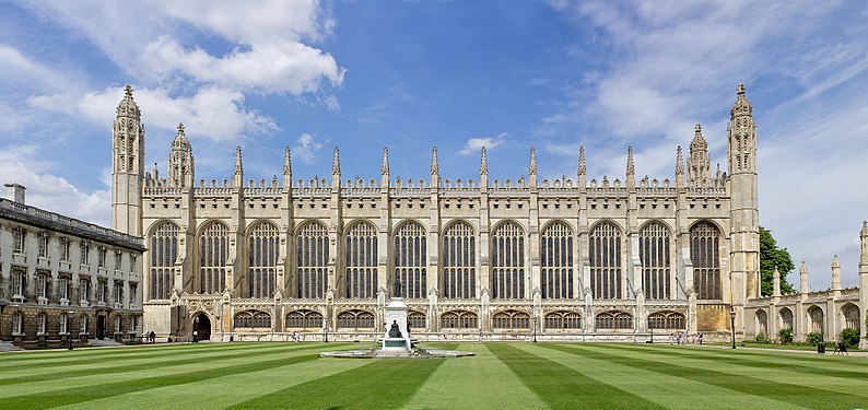 Kings College Chapel, University of Cambridge - photo: Wikipedia.com