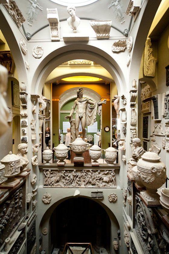 Sir John Soane Museum, London - Architect, Sir John Soanephoto: theregencyfurniture.com