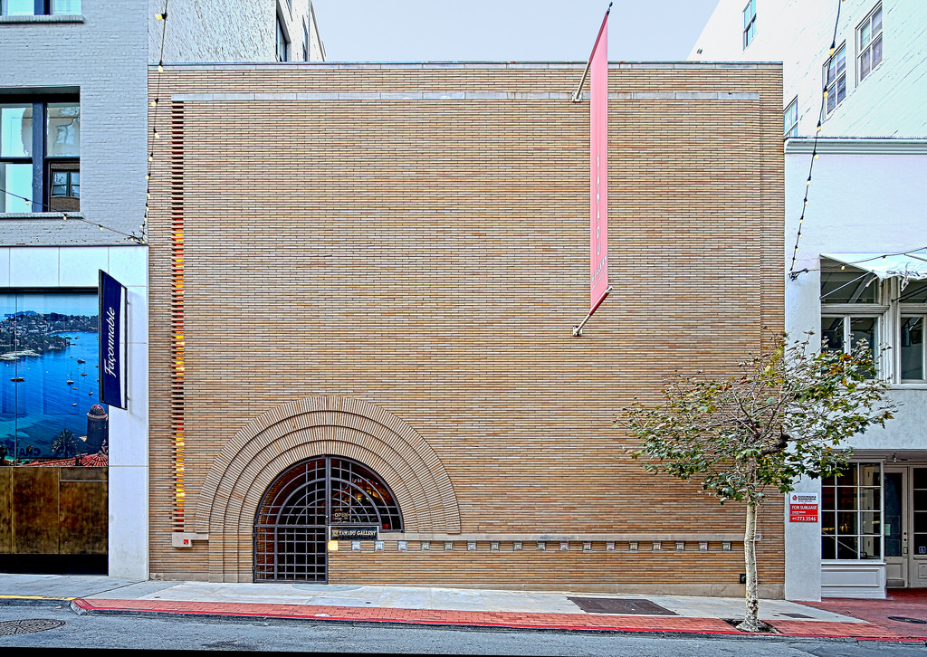 V.C. Morris Gift Shop - One of those side street treasures San Francisco offers. There's a swooping catwalk inside!Architect, Frank Lloyd Wrightphoto: Fiveprime.com