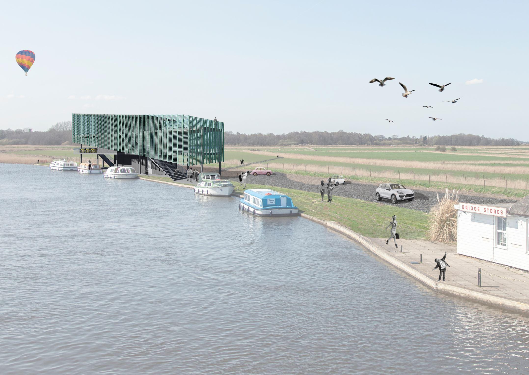 Tall Architects - Acle Bridge - England