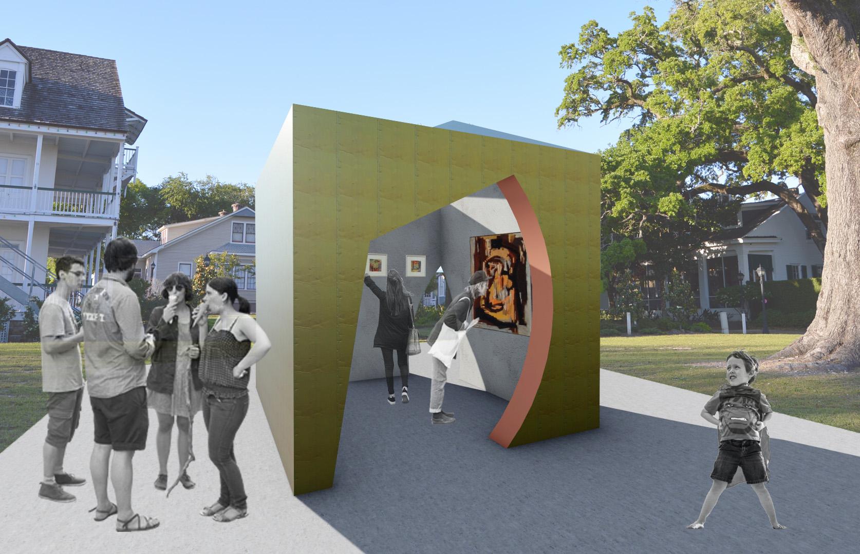 Tall Architects - Biloxi Art Studios - Biloxi, MS - Dusti Bonge