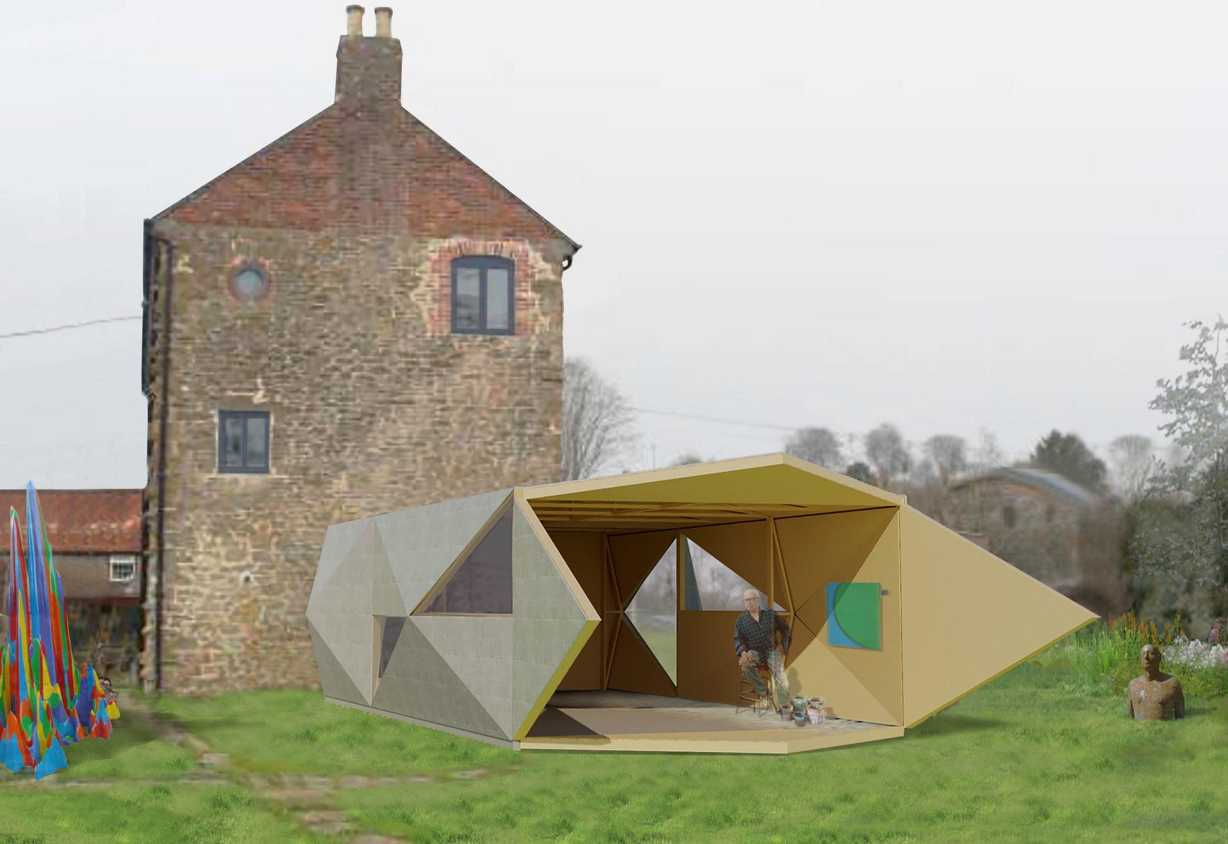 Tall Architects - Art Studio - England