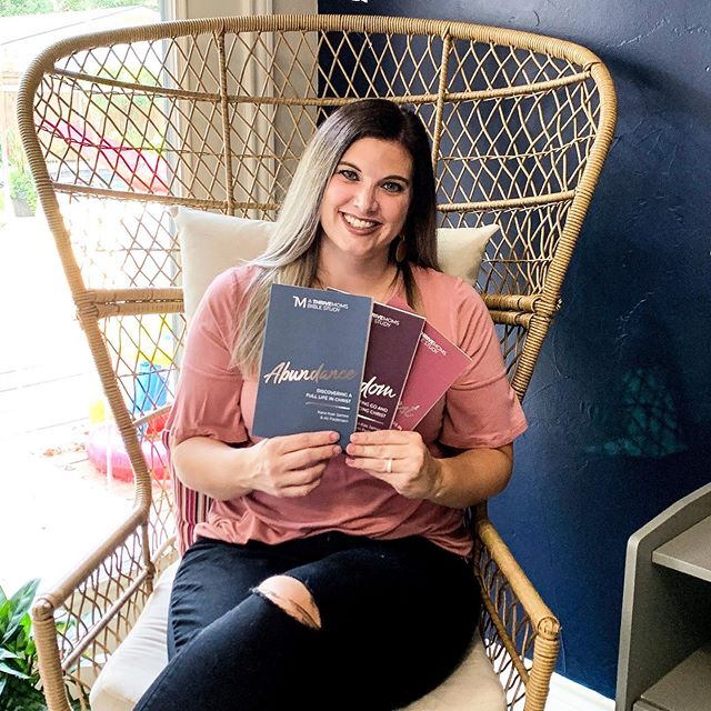 IT'S BOOK LAUNCH DAY!!!!! And this launch its extra special because I get to share it with my dear friend @ali.lou.pedersen as our three new Bible studies launch into the world today.  Abundance, Freedom, and Rest are now available anywhere books are sold 👏🏼👏🏼📚