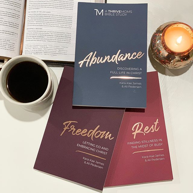 THREE DAYS until these beauties hit the world!! Motherhood can be messy, but that doesn't mean your spiritual life has to be! These Bible studies are written specifically for moms, so they are short and sweet but will take you deep into God's Word.  Available anywhere books are sold 9/1!