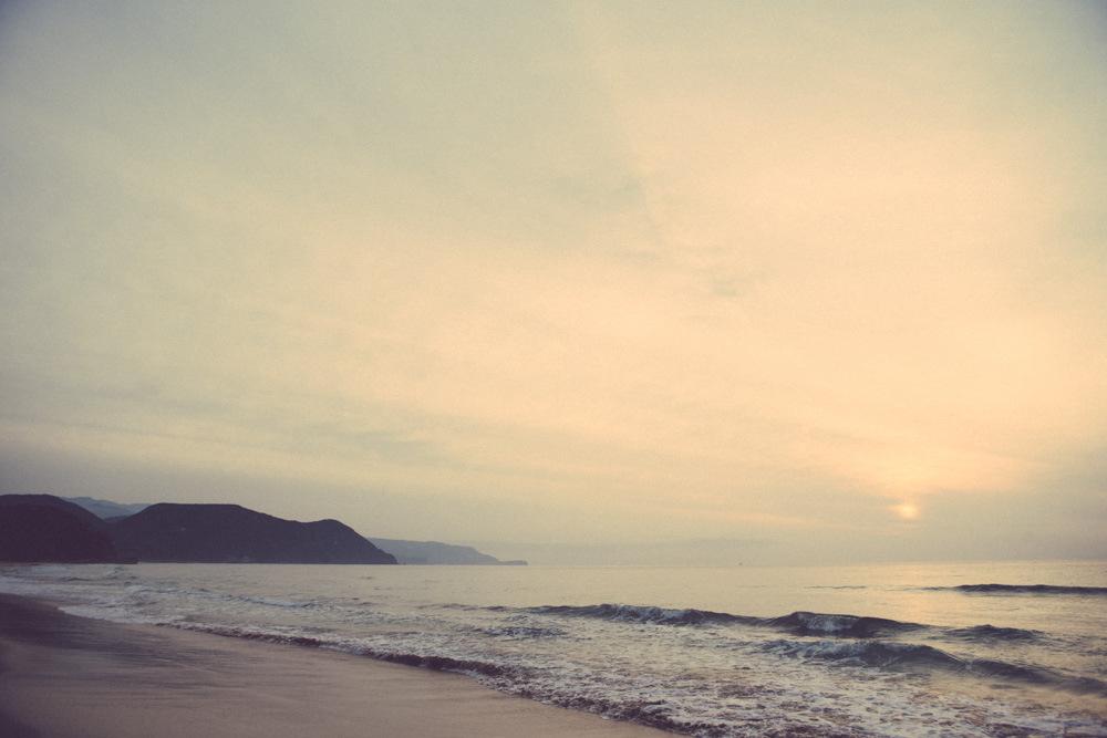 Sunrise at Shimoda