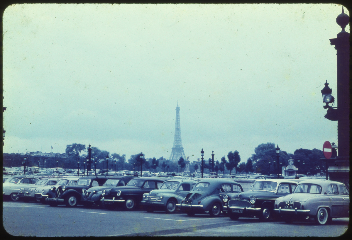 1950′s Paris Carpark