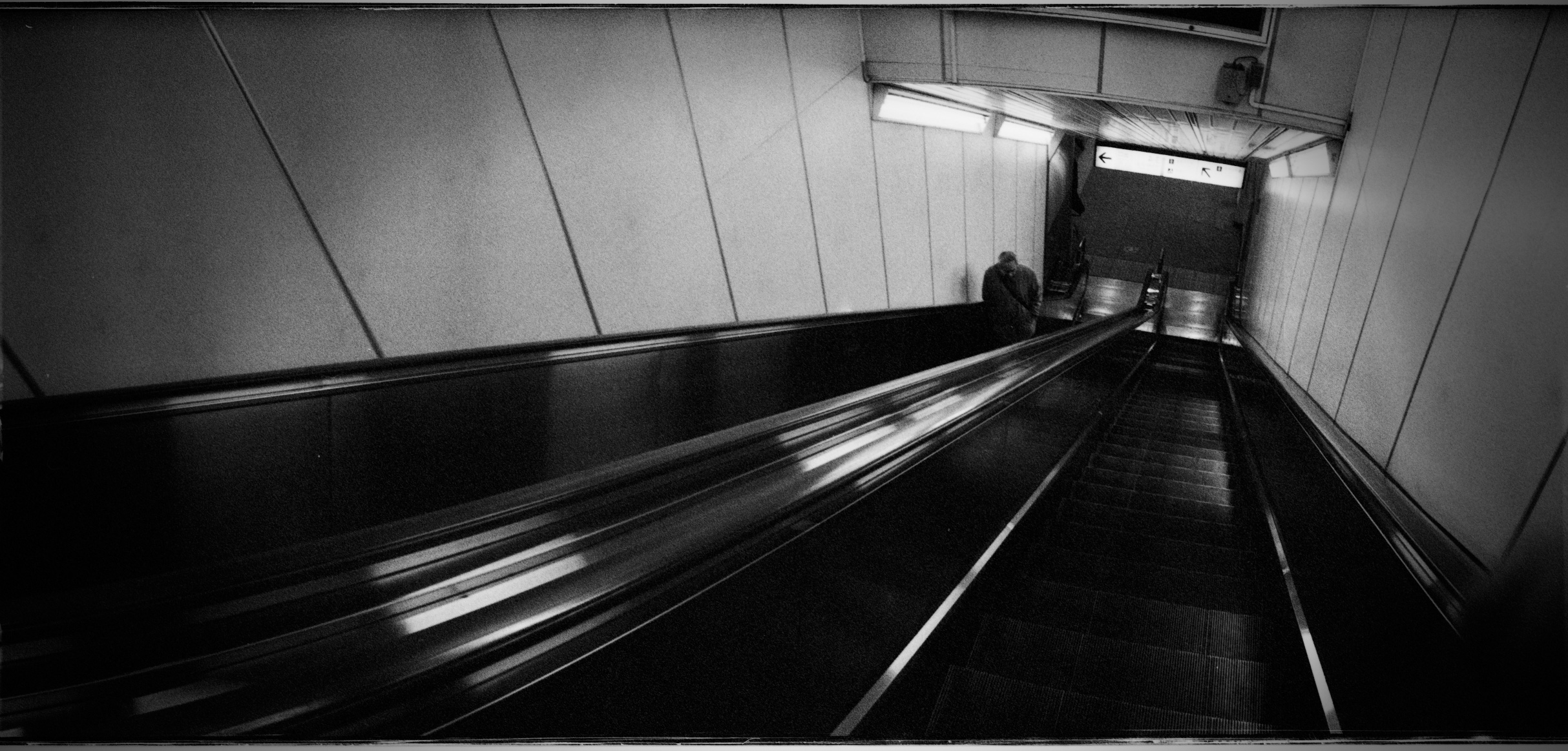 Tokyo Subway Escalators