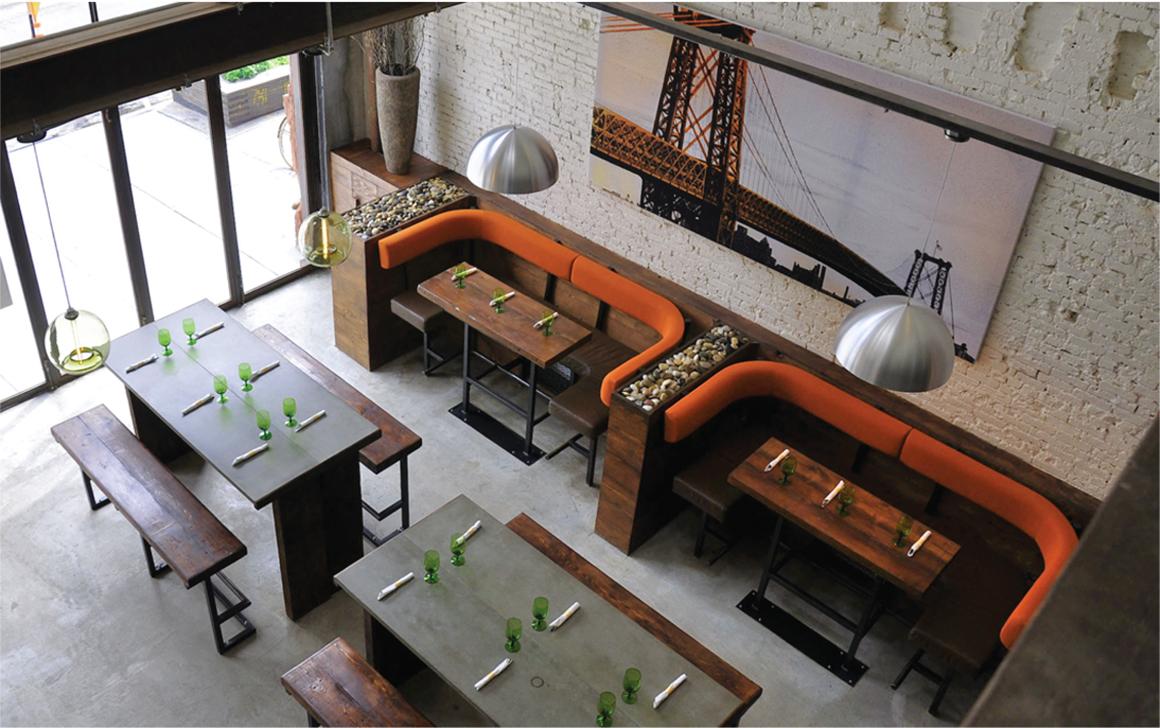 Green Canteen Restaurant by Evangeline Dennie