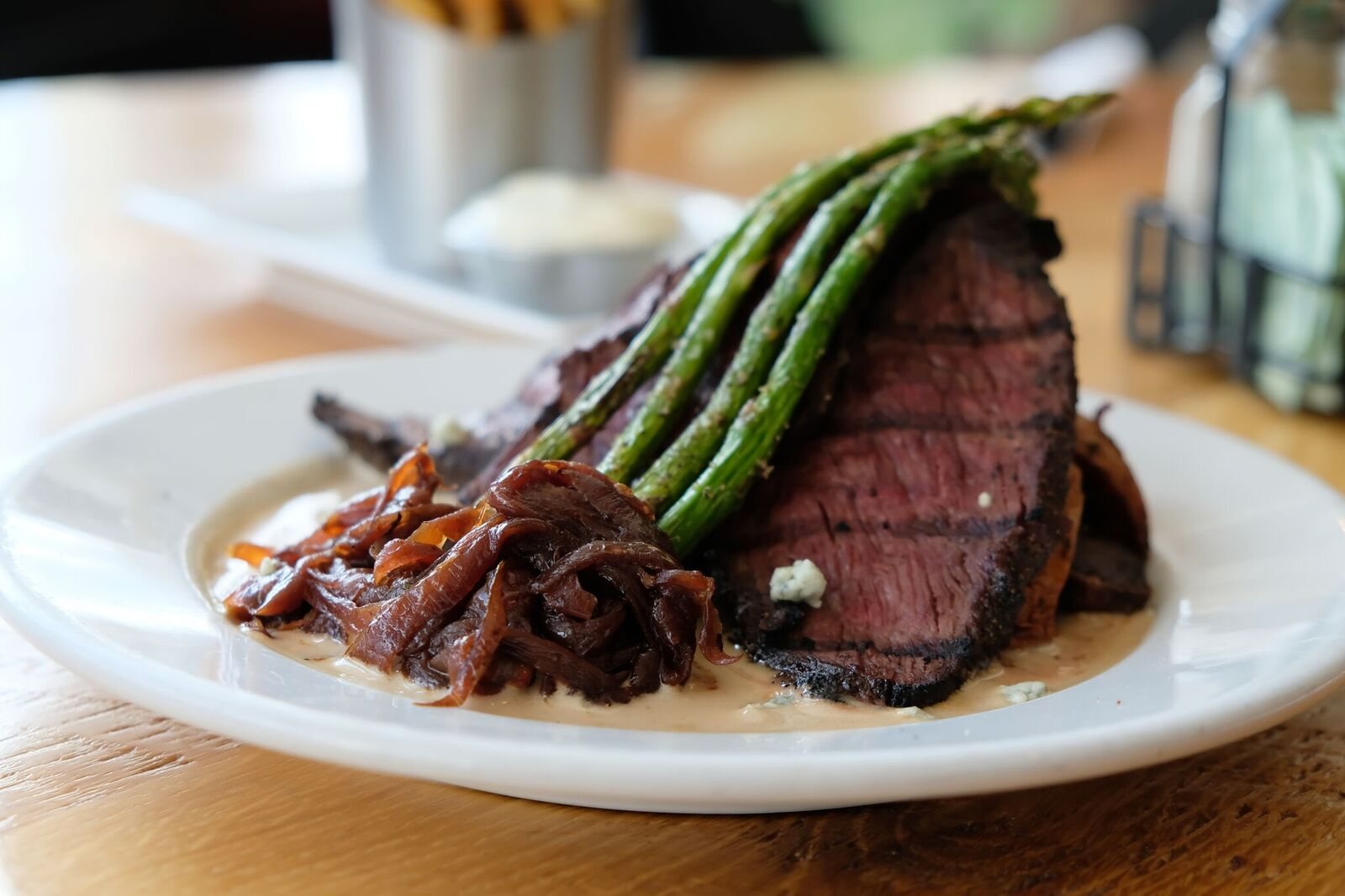 Cafe - From breakfast until well into the night, our chefs prepare scratch-made entrees like our renowned Tri-Tip steak with grilled asparagus and irresistible savory sides like our house pommes frites with herb aioli for the thousands of guests we get to serve each week.