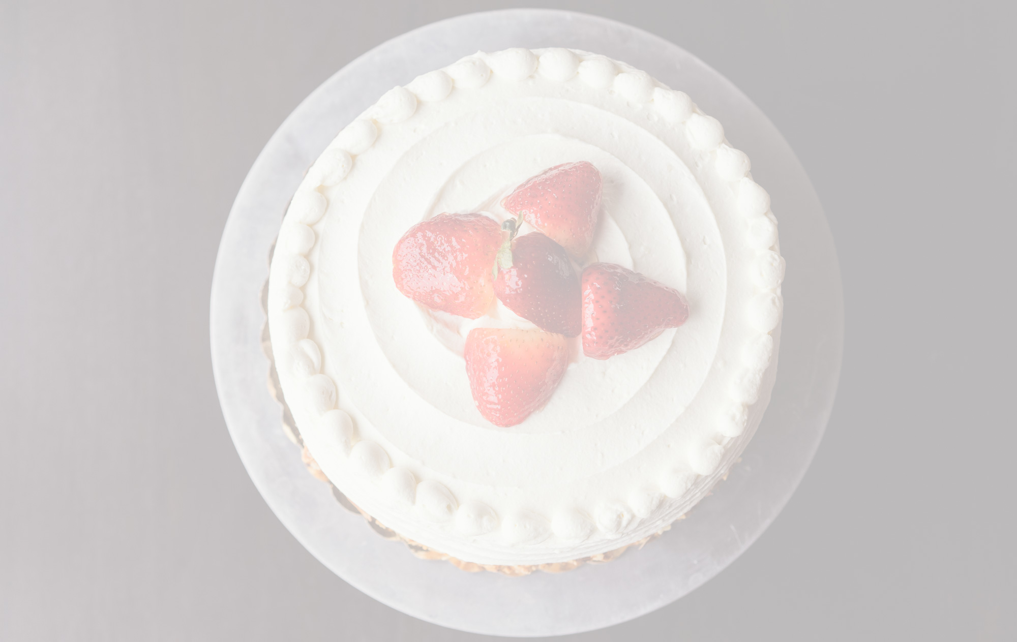 "Tres Leches$43.95 - Layers of yellow cake soaked in the ""three milks"" evaporated milk, condensed milk, and whole milk with Rompope, strawberries and chantilly whipped cream (A)"