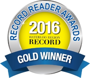 FAVOURITE LOCAL ARTIST, 2016 - GOLD AWARD, RECORD READERS CHOICE