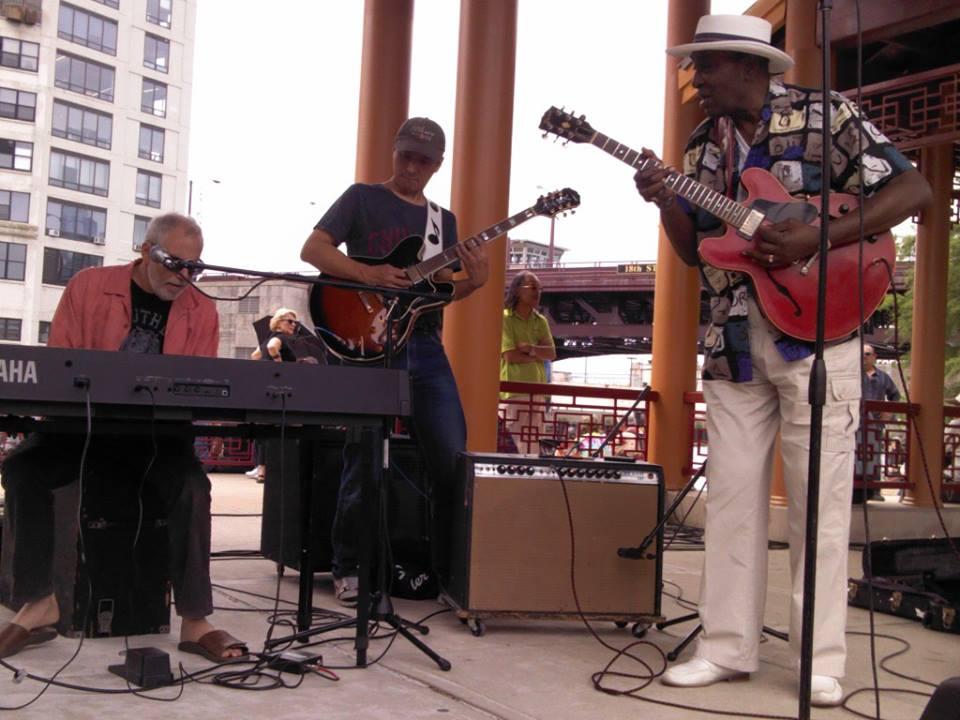 Corky Siegel, Shoji, & Eddy Clearwater  Photo byJames Allan Finley via Facebook