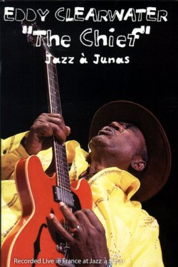 "Eddy ""The Chief"" Clearwater Live In France At Jazz à Junas DVD  Shoji plays bass"