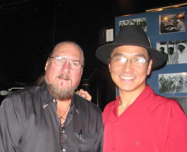 Steve Cropper and Shoji