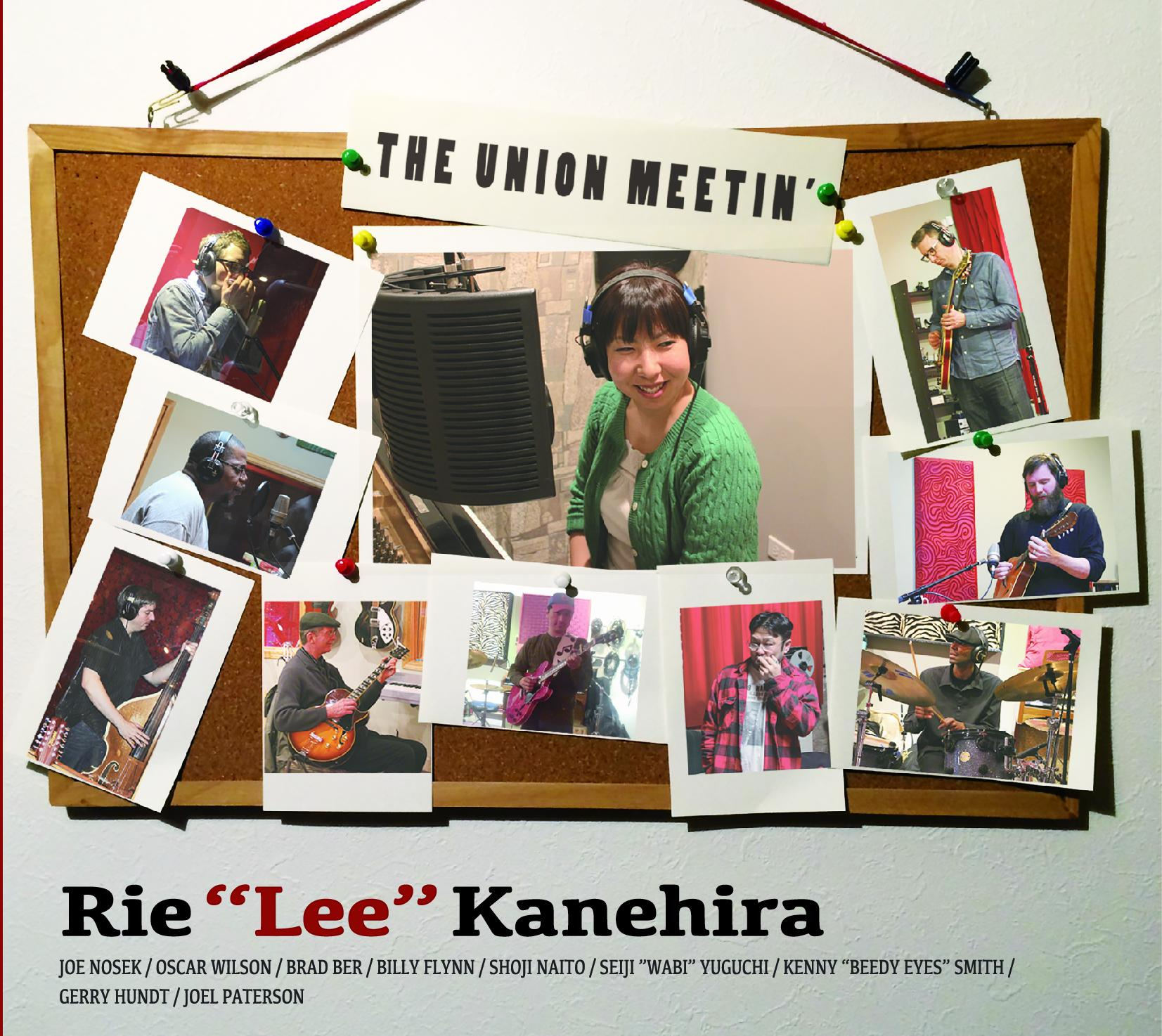 "THE UNION MEETIN' / Rie ""Lee"" Kanehira's  released in July 2014  Shoji plays guitar"
