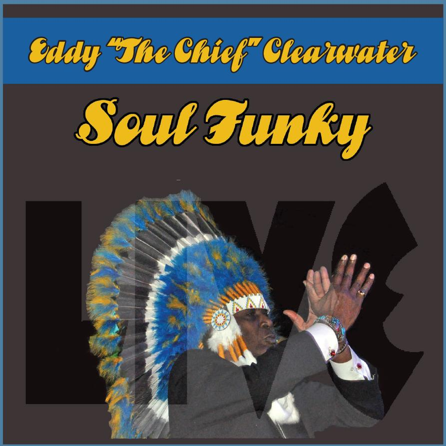 "Shoji co-produced Eddy Clearwater's Live CD ""Soul Funky"" in 2014"