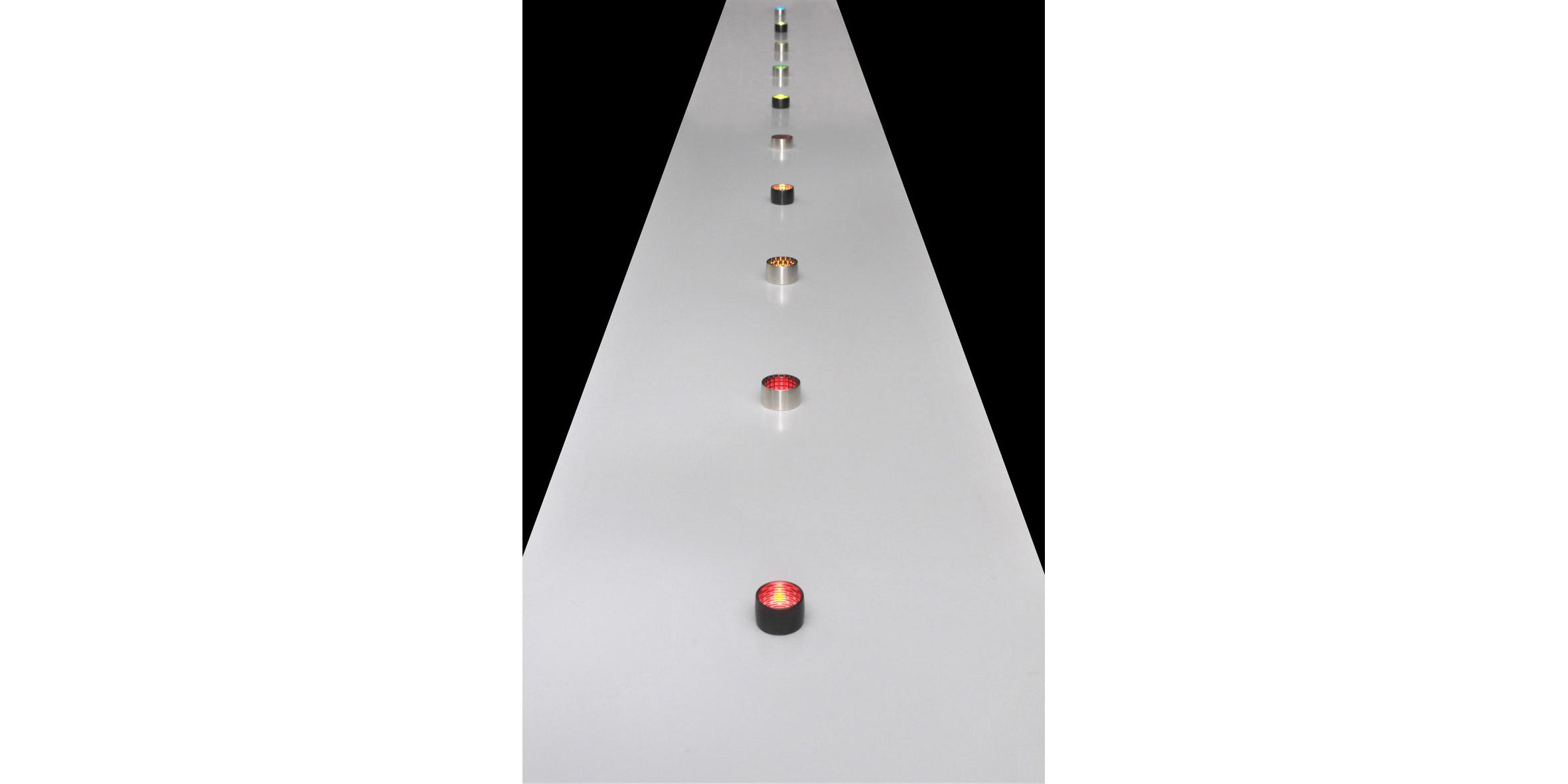 Covert Jewels installation, 2011