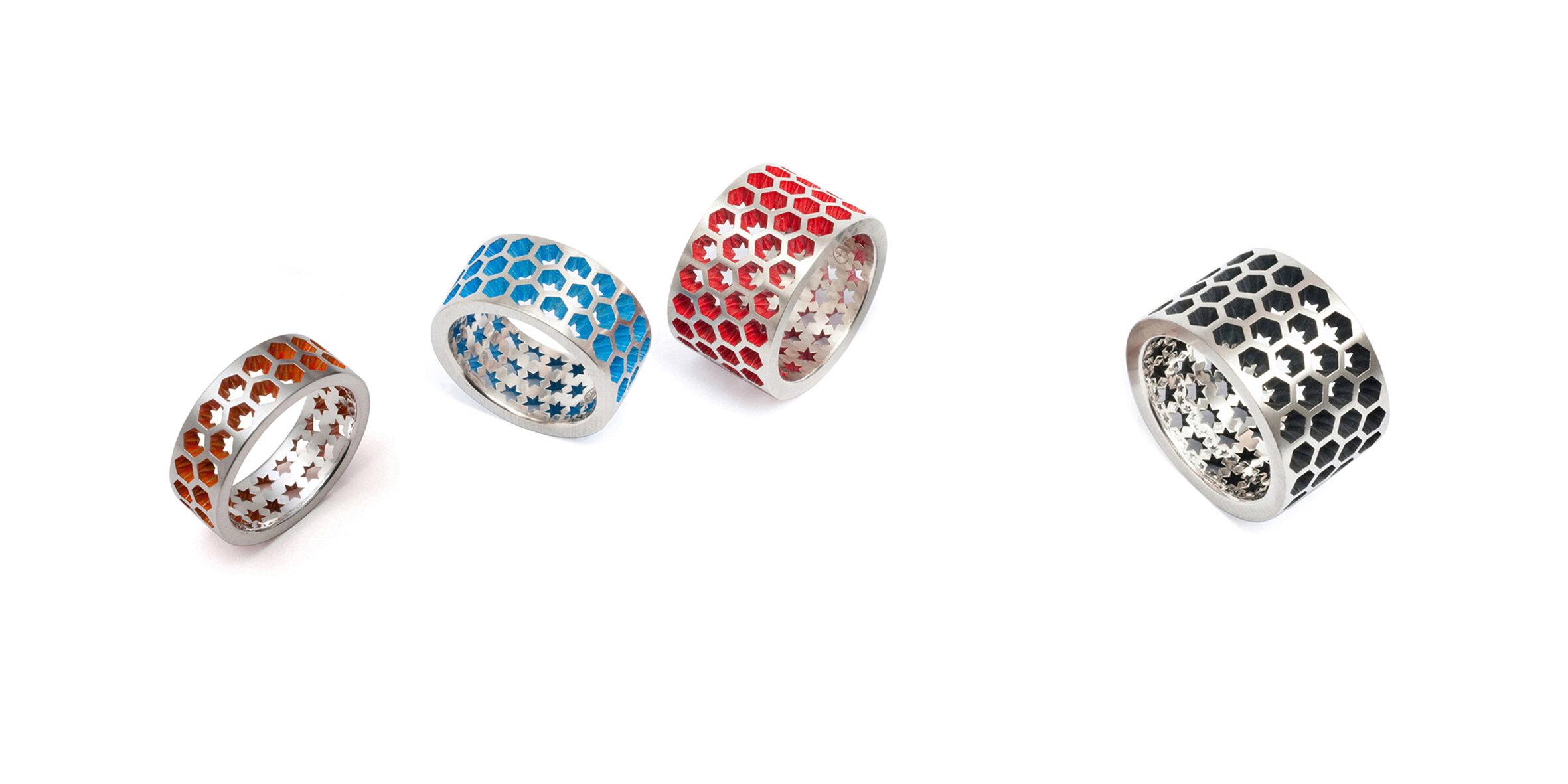 Hexar Rings