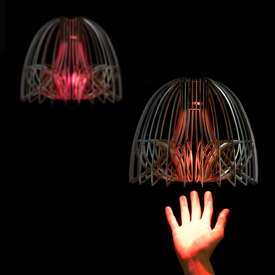 Chameleon Lamp - Dome, 2012