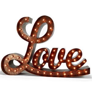 XL- LOVE MARQUEE SIGN