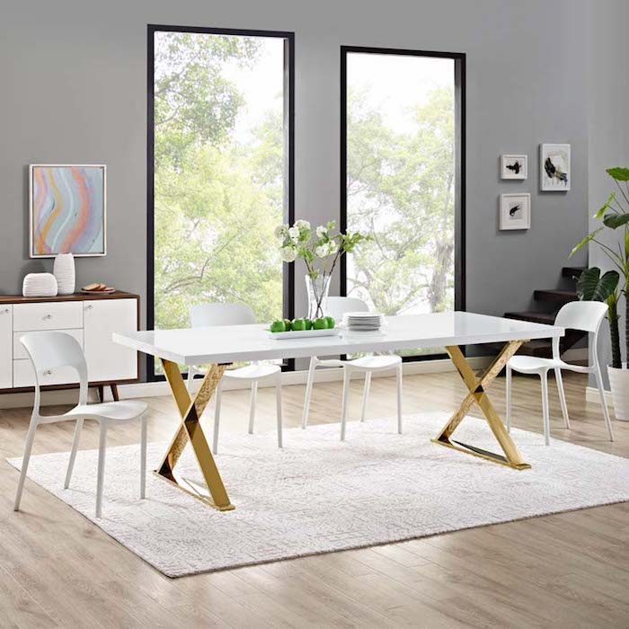 Glam Dining Table Rentquestnyc