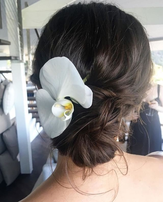 Love doing wedding hairstyles that are relaxed and undone. #renaemichelmakeup⠀ ⠀ #hairstyle #hair #style #wedding #weddinghair #bride #bridemaids #fashion #makeup #haircut #love #beauty #hairstyles #me #instagram #girl #beautiful #look
