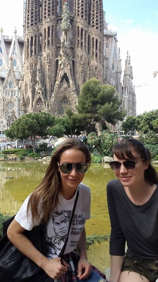 Taká turistická čo musí byť pod La Sagradou