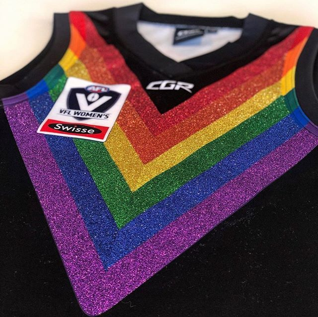 Want to own a fully team signed glitter pride jumper AND contribute to the club? See the link in our bio 🌈