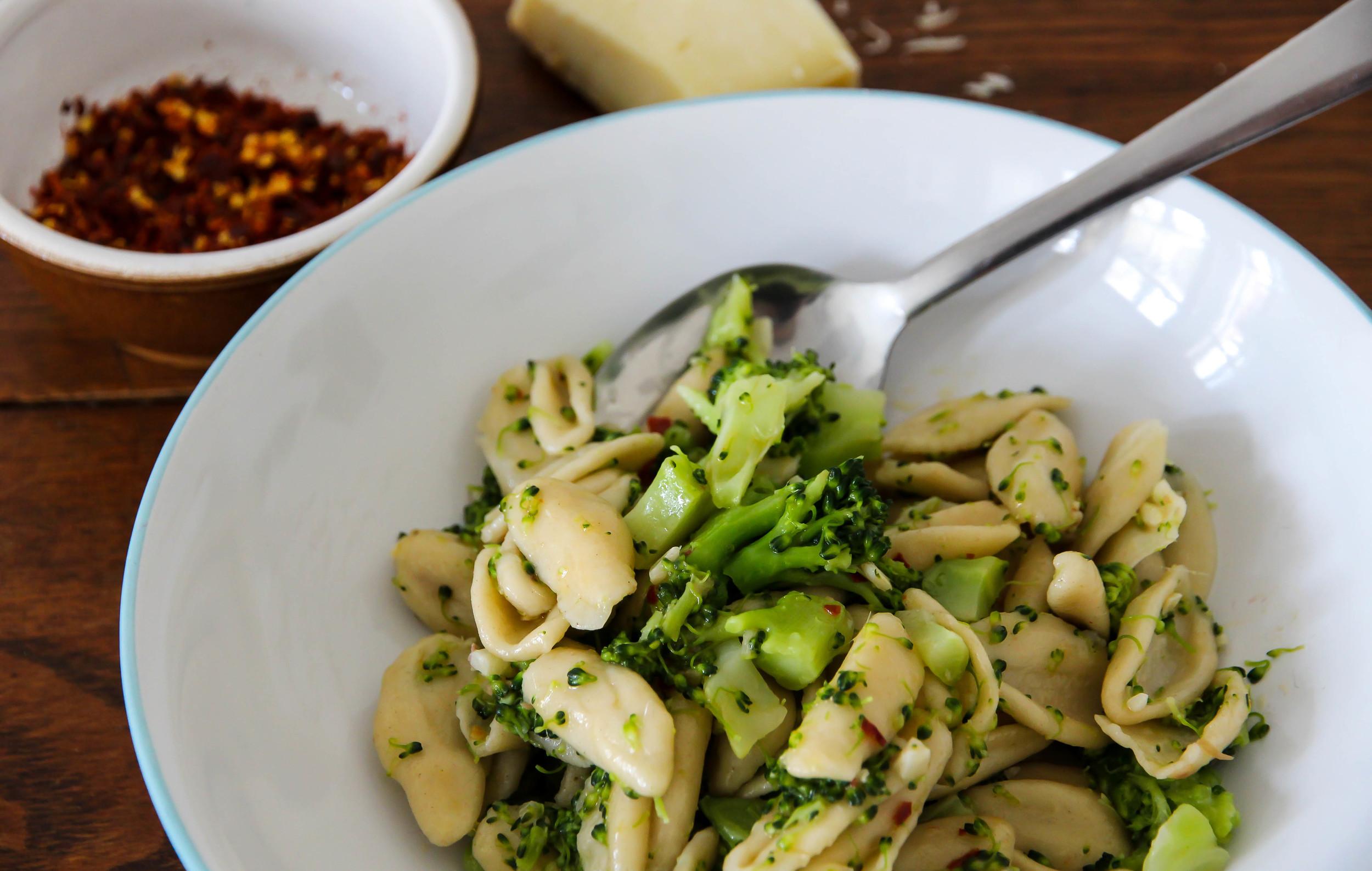 Orrechiette with Broccoli