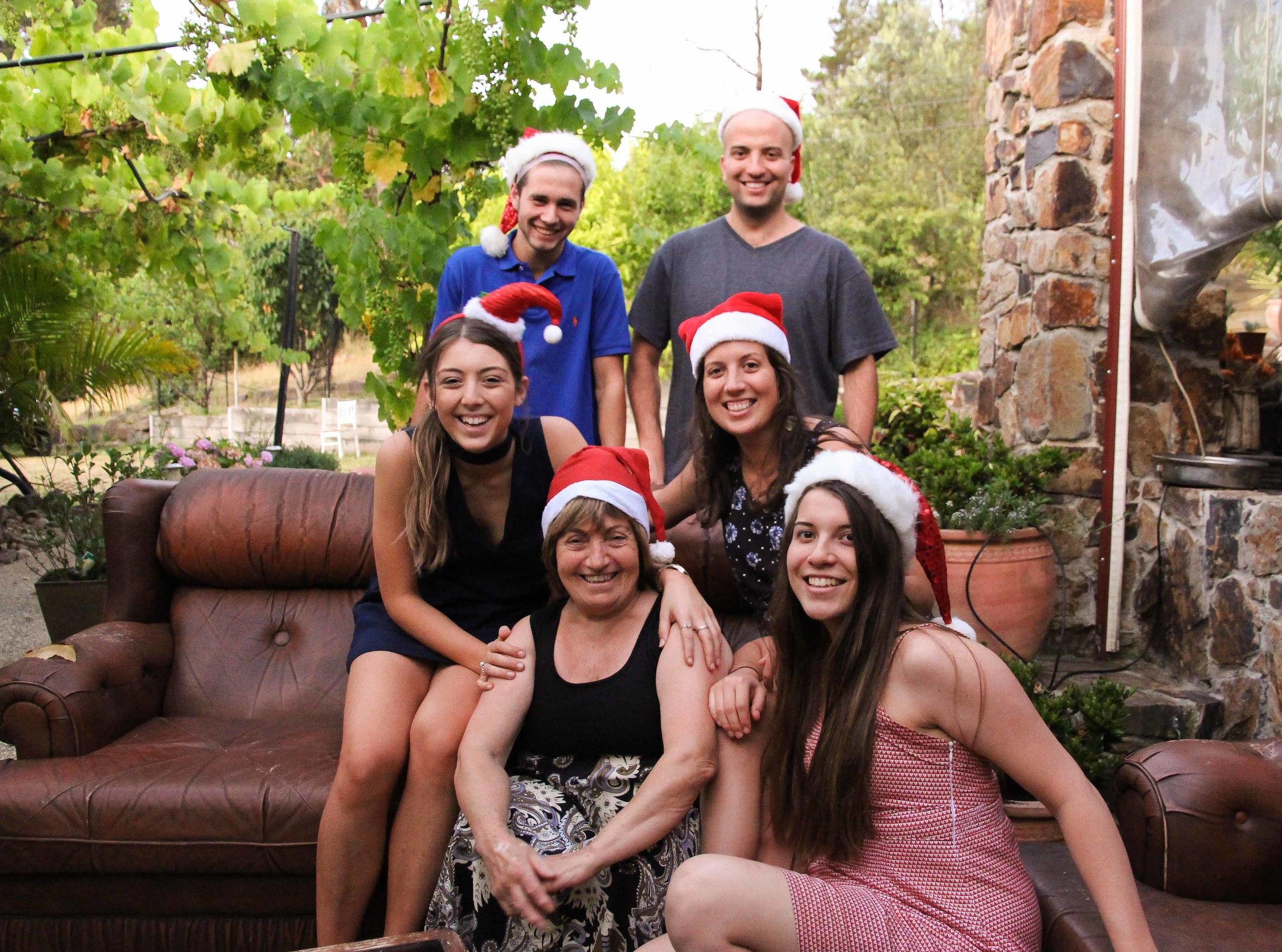 Nanna and her grandkids