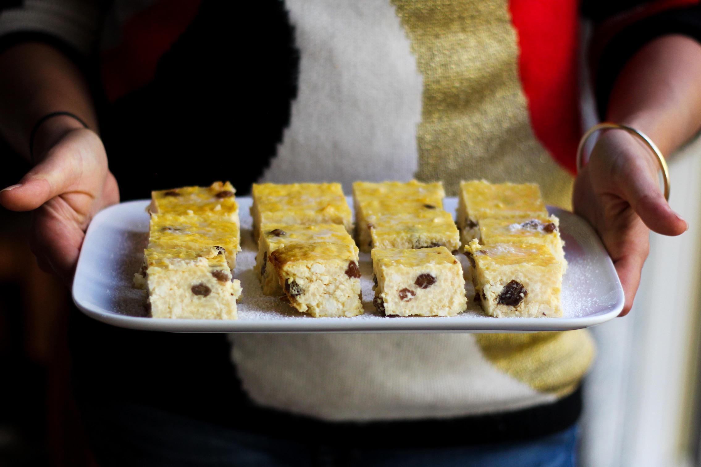 Nanna's Rice & Ricotta Cake