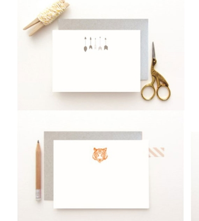 Dear to Me  // Just Because Note-cards -£12.00