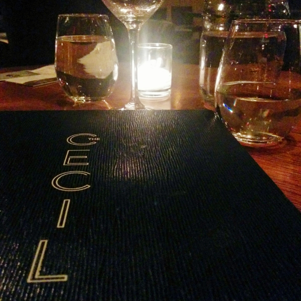 First time at The Cecil with  @mrschrish