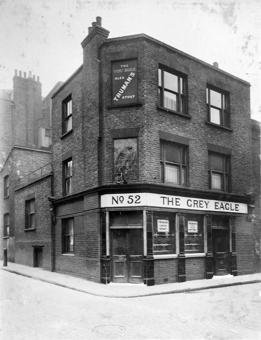 The Grey Eagle at 52 Grey Eagle Street closed in 1963and was demolished.