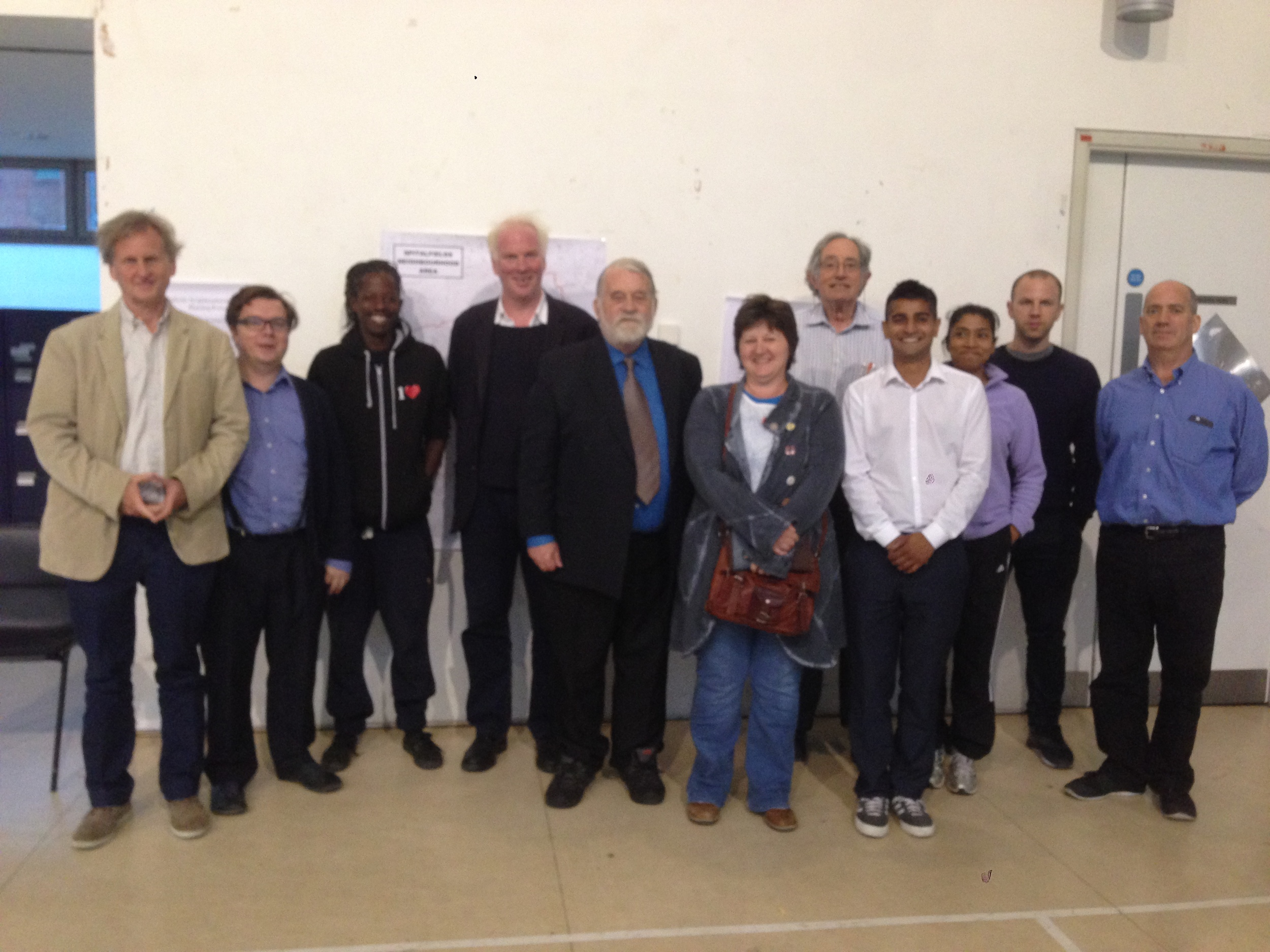 The members of the 2015-2016 Committee elected at the AGM on 27 July.