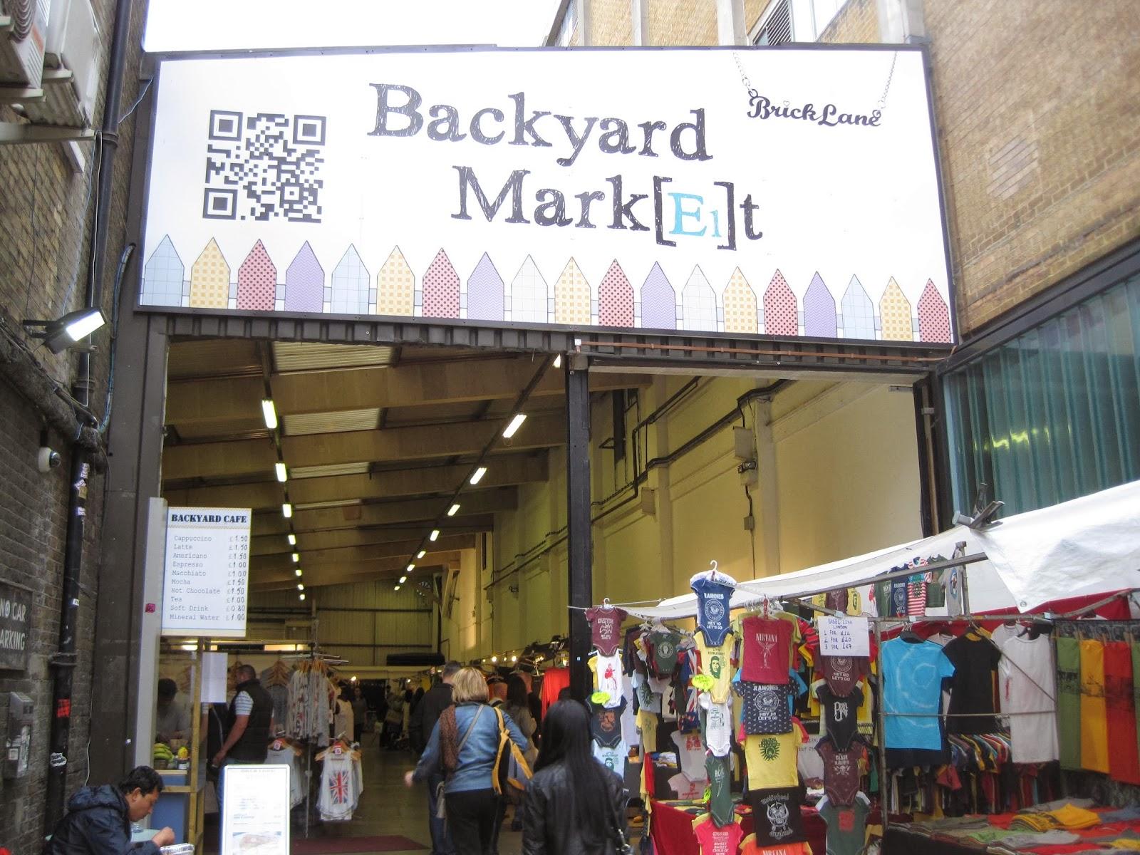 Backyard Market, Brick Lane.
