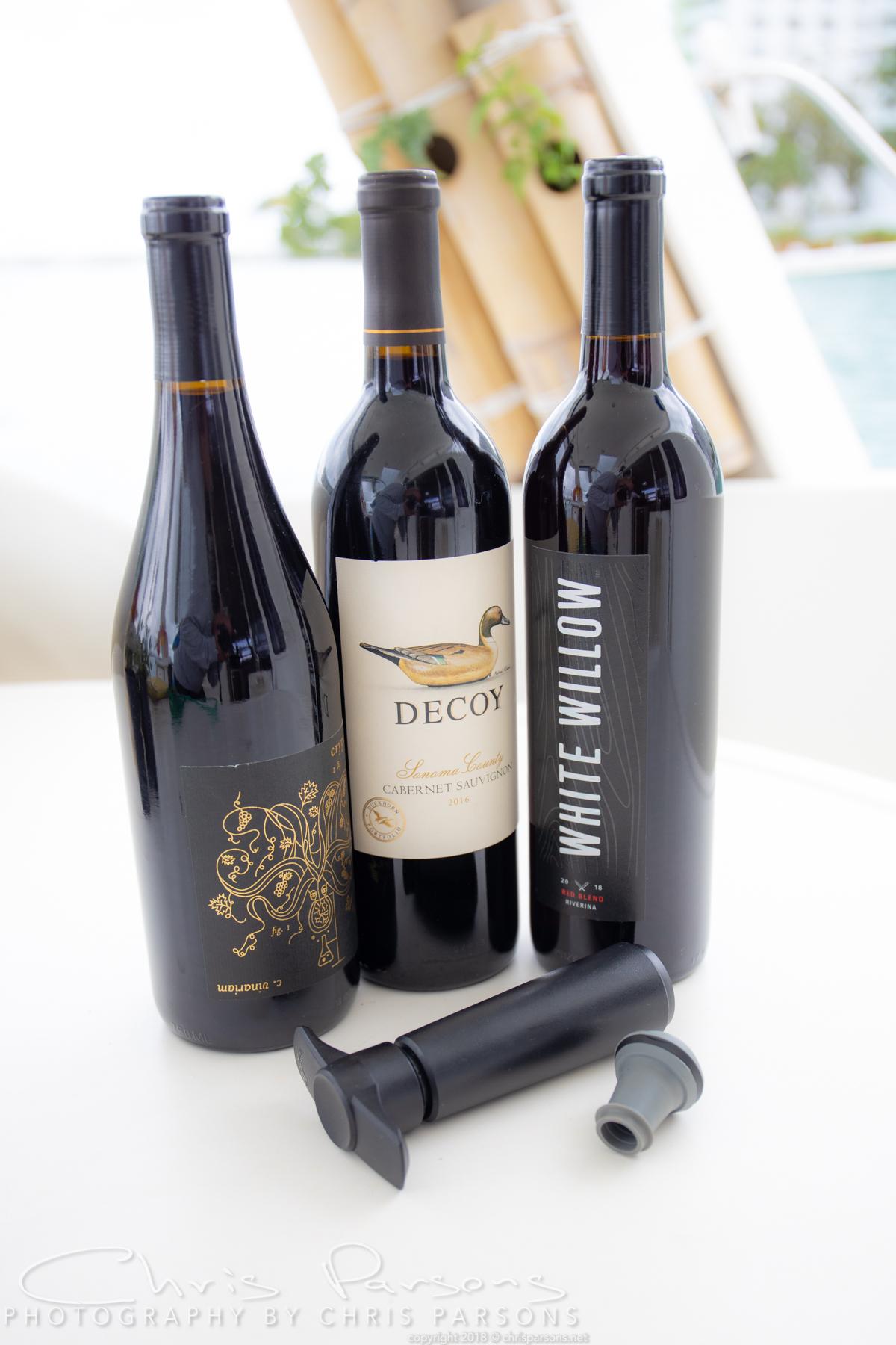Save the wine.