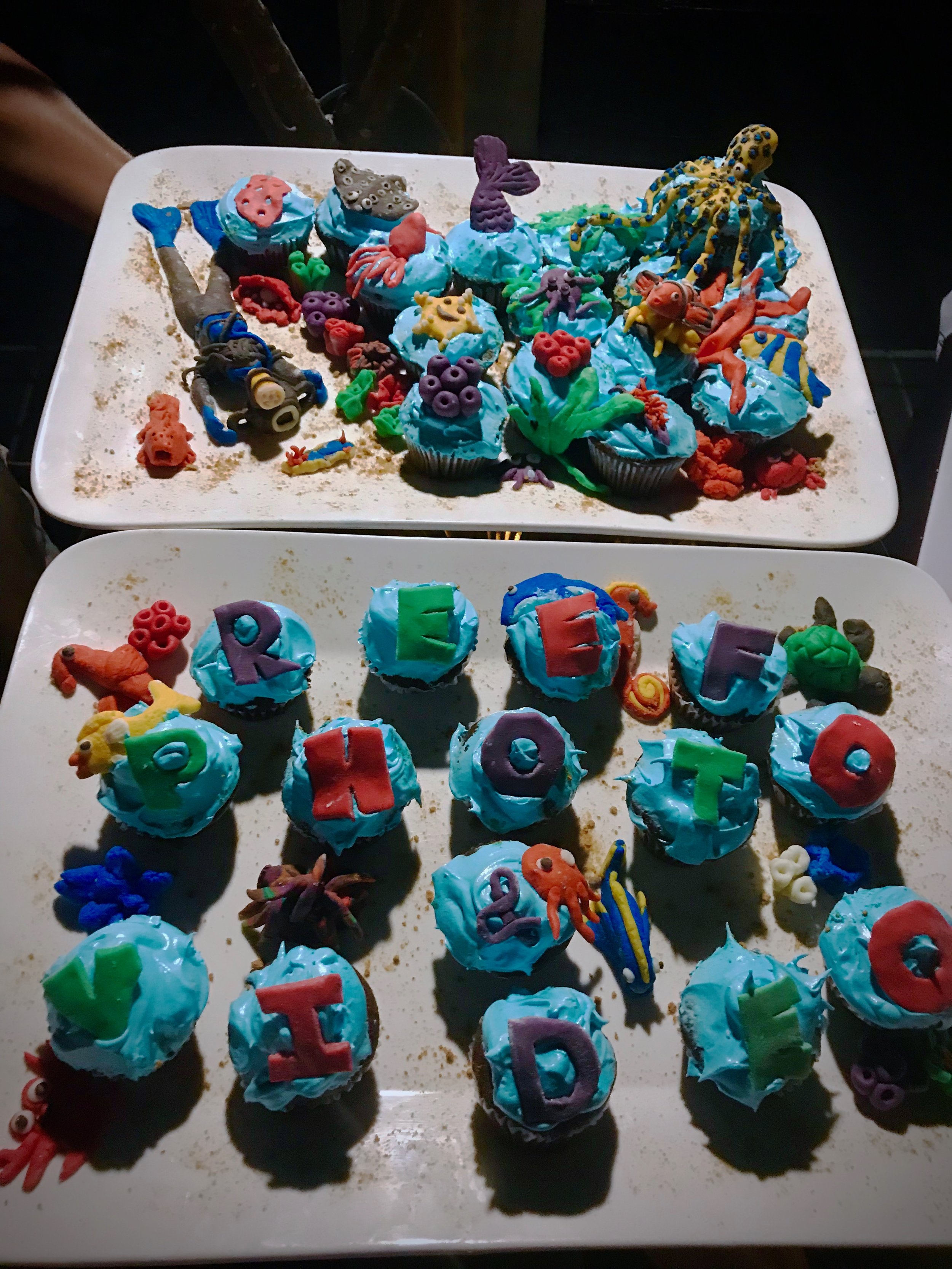 Reef Photo Underwater Cupcakes :)