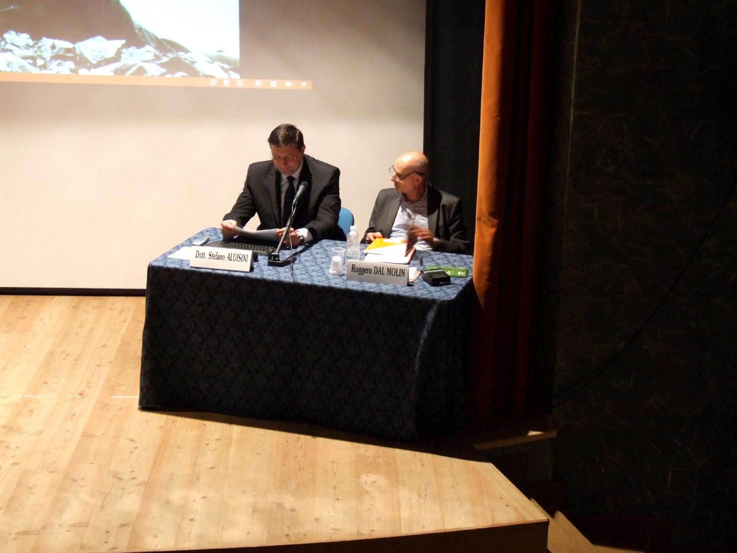 01 - Stefano e Ruggero al Convegno Di Cesuna del 2014.JPG
