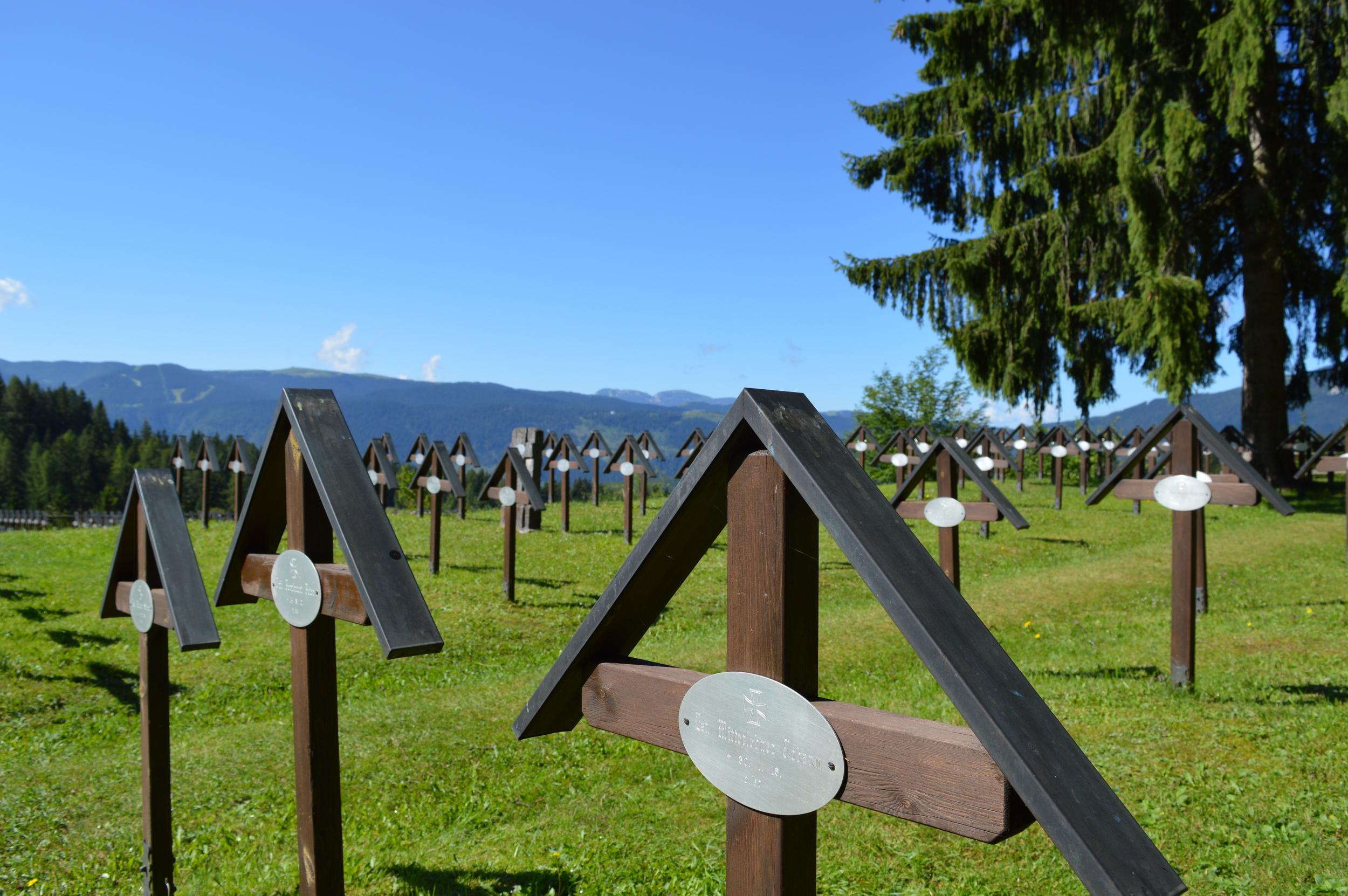 Il Cimitero Militare Austroungarico di Slaghenaufi - Altopiano di Folgaria e Lavarone