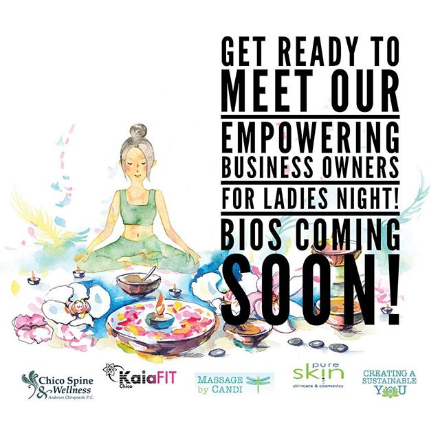 Are you ready to find out a little more about these awesome women entrepreneurs who are empowering other women? Stay tuned... it's coming soon! Want to find out more about our event? Check out the link in bio #LNOChico2018