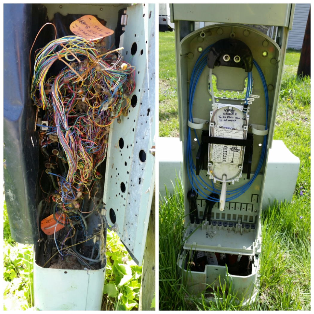 Guess which one is the Fiber ?