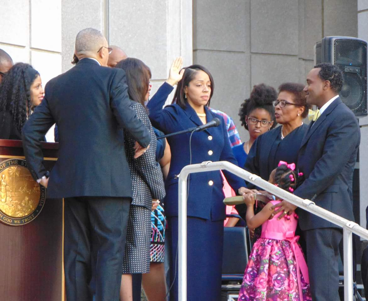 Aramis Ayala Taking Oath of Office