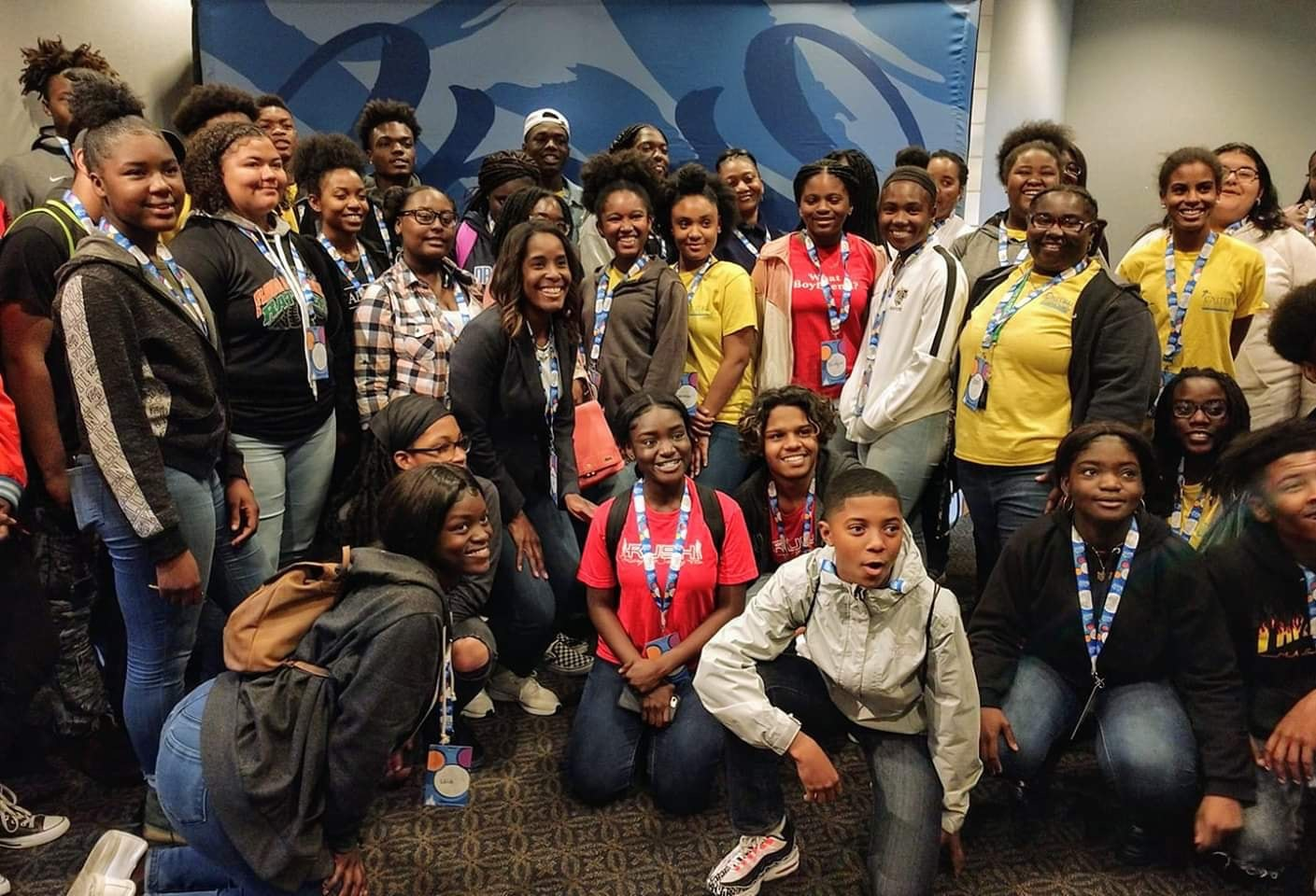 Future Leaders United attending Commissioner Victoria Siplin, District 6 Tourism, Leadership & Community (TLC) Mentoring Program March 18th, 2019