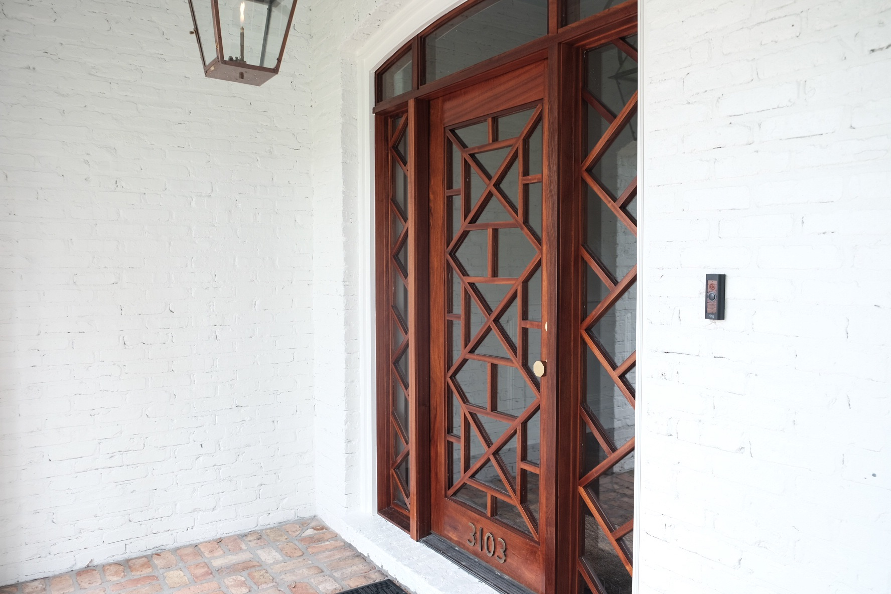 Custom Chippendale Door | Tampa, FL